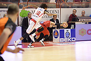 DESCRIZIONE : Pistoia Lega serie A 2013/14 Giorgio Tesi Group Pistoia Victoria Libertas Pesaro<br /> GIOCATORE : Pecile Andrea <br /> CATEGORIA : equilibrio<br /> SQUADRA : Victoria Libertas Pesaro <br /> EVENTO : Campionato Lega Serie A 2013-2014<br /> GARA : Giorgio Tesi Group Pistoia Victoria Libertas Pesaro<br /> DATA : 24/11/2013<br /> SPORT : Pallacanestro<br /> AUTORE : Agenzia Ciamillo-Castoria/GiulioCiamillo<br /> Galleria : Lega Seria A 2013-2014<br /> Fotonotizia : Pistoia Lega serie A 2013/14 Giorgio Tesi Group Pistoia Victoria Libertas Pesaro<br /> Predefinita :
