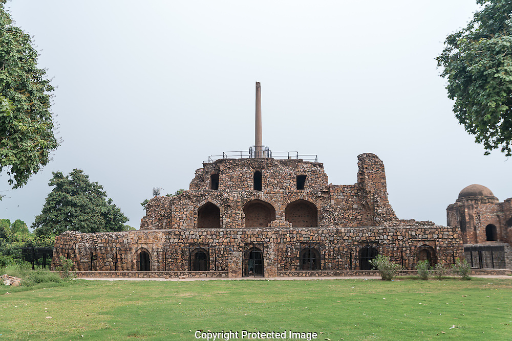 The ruins of Feroz Shah Kotla were once the imposing citadel of Ferozabad, the 'Fifth city' of Delhi, built by Emperor Firoz Shah Tughlaq. Said to be the most haunted place in Delhi, the ruins are believed to be populated with thousands of prominently good Djinn