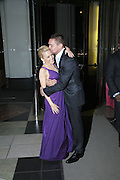 Kylie Minogue and Wiliam Baker, Kylie The Exhibition, private view: Victoria & Albert Museum, London, 6 February 2007.  -DO NOT ARCHIVE-© Copyright Photograph by Dafydd Jones. 248 Clapham Rd. London SW9 0PZ. Tel 0207 820 0771. www.dafjones.com.