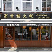 Shu Xiang Ge - Hot Pot Chinese restaurants in Chinatown London on July 19 2018, UK