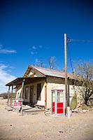 The town of Klondyke on the way to the east side entrance of Aravaipa Canyon Preserve, AZ.