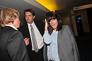 KRIS THYKIER; CLAUDIA WINKLEMAN, 2012 GQ Men of the Year Awards,  Royal Opera House. Covent Garden, London.  3 September 2012