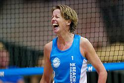 04-01-2020 NED: NK Beach volleyball Indoor, Aalsmeer<br /> Annemieke Driessen
