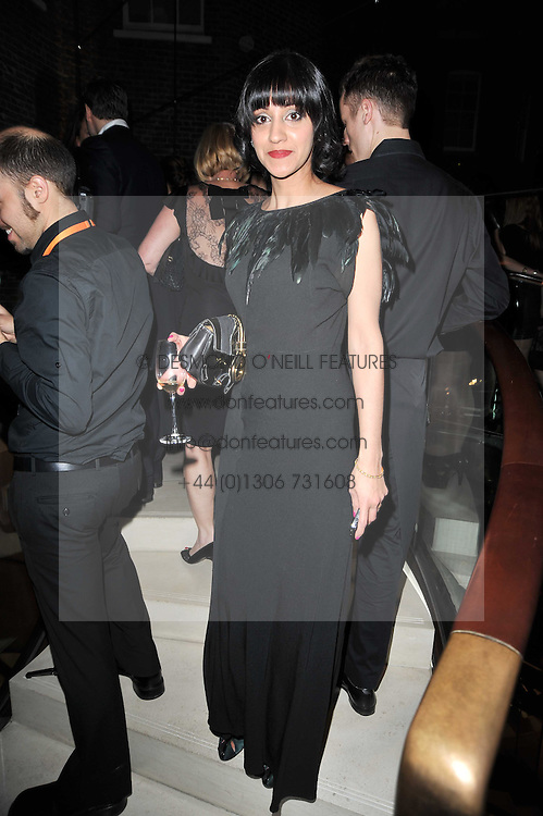 MANJINDER VIRK at the BAFTA Nominees party 2011 held at Asprey, 167 New Bond Street, London on 12th February 2011.