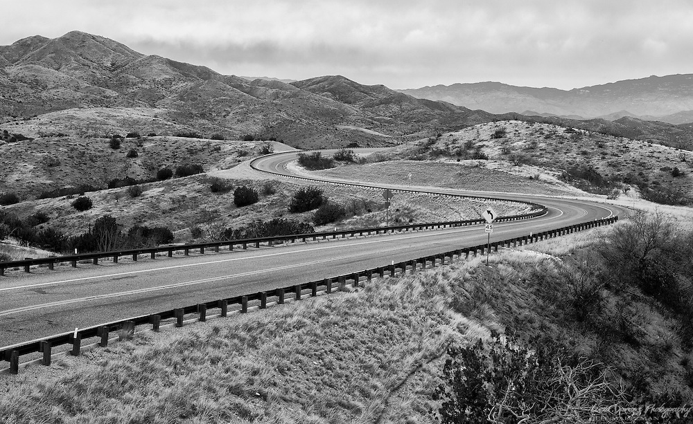 The very scenic and curving route 83 between Tucson and Sonoita is a wonderful drive.