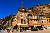 Hotel Beaumont, Ouray, Colorado USA.