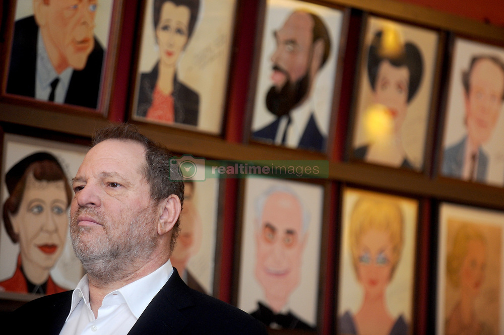 Harvey Weinstein attends U.S. Senator Charles E. Schumer's press conference to announce his campaign to give Broadway and live theater productions a major tax break that will encourage investment and spur job creation, at Sardi's in New York City, NY, USA on April 7, 2014. Photo by Dennis Van Tine/ABACAPRESS.COM    442288_011 New York City NYC Etats-Unis United States