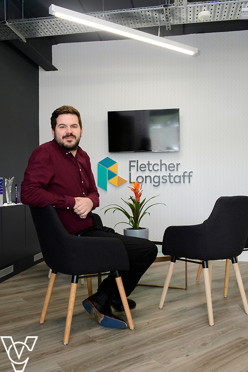 Fletcher Longstaff, Burton Waters, Lincoln. Pictured is managing director Adam Cheal.<br /> <br /> Picture: Chris Vaughan Photography for Fletcher Longstaff via Distract<br /> Date: April 30, 2019