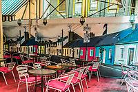 Central, Hong Kong - June 4, 2014: restaurant Soho Central in Hong Kong