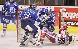 01.03.2011, Arena Ice Fever, Zagreb, CRO, EBEL, KHL Medvescak Zagreb vs EC KAC, im Bild . EXPA Pictures © 2011, PhotoCredit: EXPA/ nph/ Pixsell +++++ ATTENTION - OUT OF GERAMANY GER, CROATIA CRO, SWEDEN SWE +++++