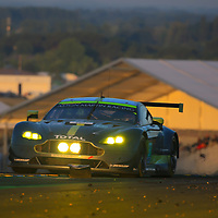 #97, Aston Martin Racing, Martin Vantage, driven by: Jonny Adam, Darren Turner, Daniel Serra, 24 Heures Du Mans 85th Edition, 18/06/2017,