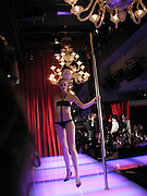 Tanqueray Philip Treacy couture fashion show and after party,  Pink Paradise Club, Paris. 21 January 2003. © Copyright Photograph by Dafydd Jones 66 Stockwell Park Rd. London SW9 0DA Tel 020 7733 0108 www.dafjones.com