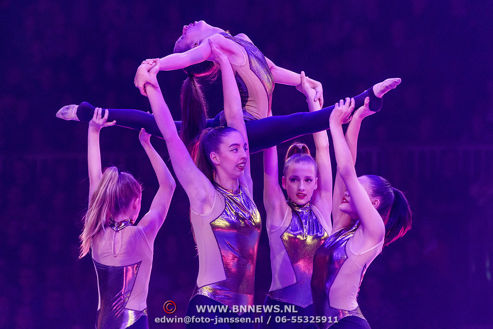 NLD/Amsterdam/20181220 - A Touch of Gold 2018, Ritmisch Nederlands team