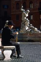 Italie, Latium, Rome, Place Navona // Italy, Lazio, Roma, navona square