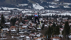 30.01.2016, Normal Hill Indiviual, Oberstdorf, GER, FIS Weltcup Ski Sprung Ladis, Bewerb, im Bild Svenja Wuerth (GER) // Svenja Wuerth of Germany during her Competition Jump of FIS Ski Jumping World Cup Ladis at the Normal Hill Indiviual, Oberstdorf, Germany on 2016/01/30. EXPA Pictures © 2016, PhotoCredit: EXPA/ Peter Rinderer