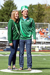 01 October 2016:  2016 Homecoming Queen and King during an NCAA division 3 football game between the Wheaton Thunder and the Illinois Wesleyan Titans in Tucci Stadium on Wilder Field, Bloomington IL (Photo by Alan Look)