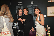CARAGH THURING,MARTINE D'ANGLEJAN,  ELLI RESVANIS, Evening preview of House of Voltaire.  A pop-up store selling artworks. homewares and limited edition prints. 31 Cork st. London W1S 3NU. 25 September 2019