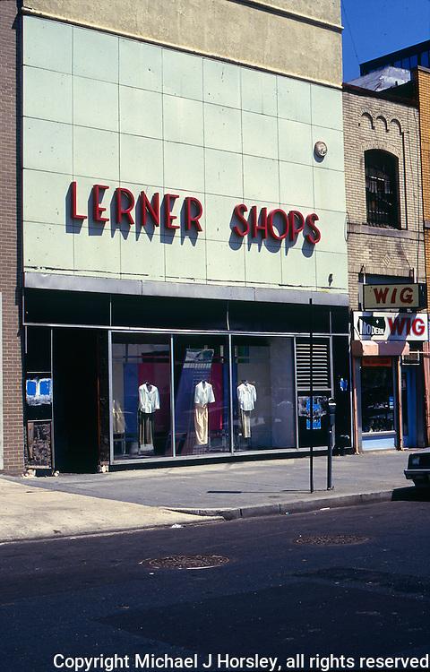 11th Street NW Washington DC, 1988<br /> Modern Wig