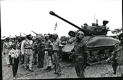 Dec. 12, 1965 - Idi Amin inspecting his tank troops. Credit: Camerapix. (Credit Image: © Keystone Pictures USA/ZUMAPRESS.com)