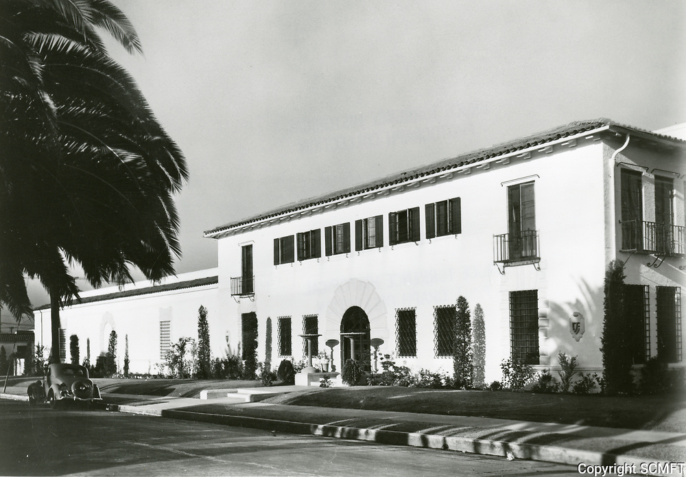 1938 Consolidated Film Industries (CFI) at Seward & Romaine Streets