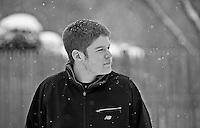 James Curtis Senior portrait session on January 21, 2012.