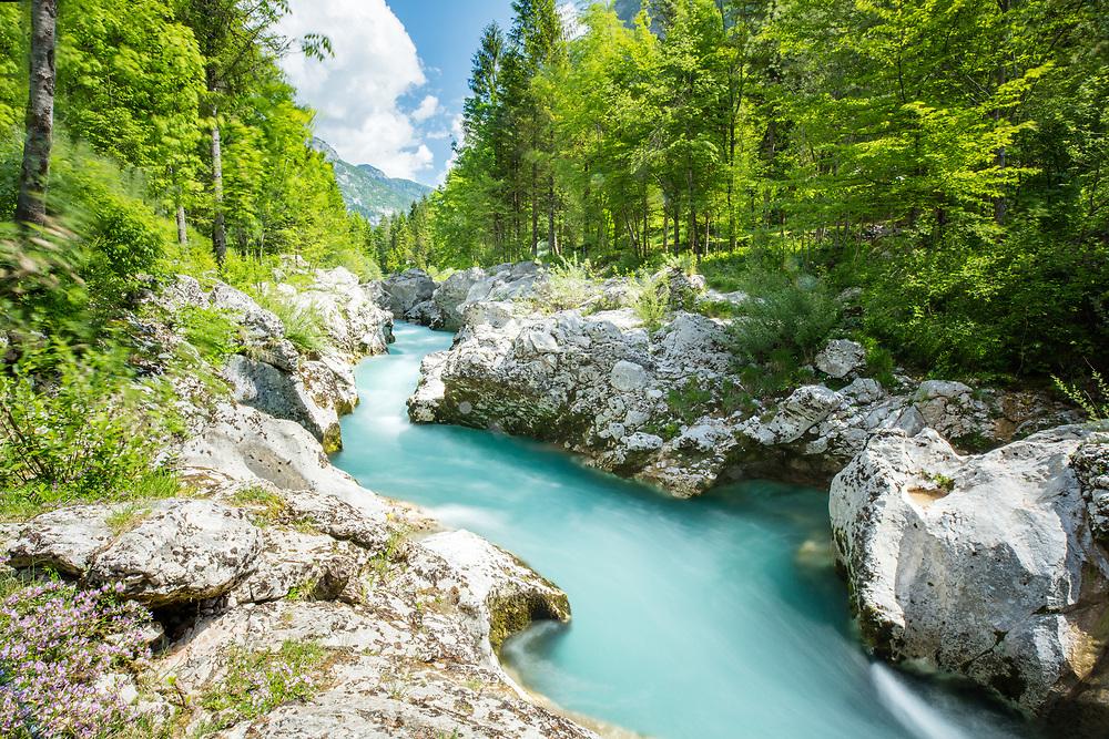 Soca valley & river, Slovenia