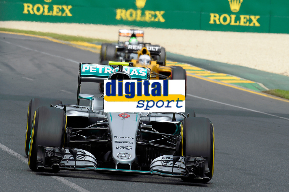06 ROSBERG Nico (ger) Mercedes GP MGP W07 action during 2016 Formula 1 championship at Melbourne, Australia Grand Prix, from March 18 To 20 - Photo Eric Vargiolu / DPPI