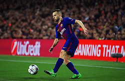 Jordi Alba of Barcelona - Mandatory by-line: Matt McNulty/JMP - 14/03/2018 - FOOTBALL - Camp Nou - Barcelona, Catalonia - Barcelona v Chelsea - UEFA Champions League - Round of 16 Second Leg