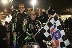 October 7, 2017 - Petit Le Mans, USA - 2 TEQUILA PATRON ESM (USA) NISSAN ONROAK DPI SCOTT SHARP (USA) RYAN DALZIEL (GBR) BRENDON HARTLEY (NZL) WINNER PROTOTYPE (Credit Image: © Panoramic via ZUMA Press)