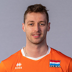 Robbert Andringa of Netherlands, Photoshoot selection of Orange men's volleybal team season 2021on may 11, 2021 in Arnhem, Netherlands (Photo by RHF Agency/Ronald Hoogendoorn)
