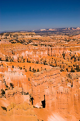 Bryce Canyon National Park, Rock formations, hoodoos of Silent City and Sunset Point Navajo Loop Trail, erosion, arid, Utah, UT, Southwest America, American Southwest, US, United States, Image ut357-18152, Photo copyright: Lee Foster, www.fostertravel.com, lee@fostertravel.com, 510-549-2202