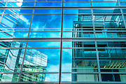 Luxembourg, Kirchberg, city, modern,architecture,sky,blue,