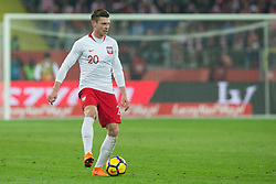 March 27, 2018 - Chorzow, Poland - Lukasz Piszczek of Poland   during the international friendly soccer match between Poland and South Korea national football teams, at the Silesian Stadium in Chorzow, Poland on 27 March 2018. (Credit Image: © Foto Olimpik/NurPhoto via ZUMA Press)