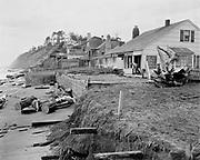 Y-481104-4. Nelscott after the November 1948 storm. November 4, 1948.