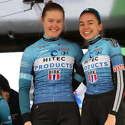 03-03-2020: Wielrennen: GP Le Samyn: vrouwen: Dour: Pernille Feldmann: Amalie Lutro