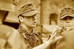 Elsecar 1940s Wartime Weekend 4 September 2010 .Images © Paul David Drabble..