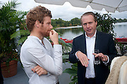 TOM AIKENS; JO BAMFORD, The Royal Parks Foundation with Halcyon Gallery unveils Isis, a new sculpture in Hyde Park. Next to the Serpentine lake. London. 7 September 2009.