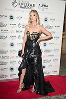 Charli Fisher on the red carpet for the Lifestyle Awards 2021, at the Landmark Hotel Marylebone, London.