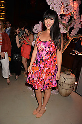 Melissa Hemsley at the Warner Music Group and British GQ Summer Party in partnership with Quintessentially held at Nobu Shoreditch, Willow StreetLondon England. 5 July 2017.<br /> Photo by Dominic O'Neill/SilverHub 0203 174 1069 sales@silverhubmedia.com