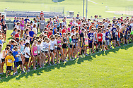 Central Valley, New York - Runners get ready for the start the Woodbury Country Ramble race on Aug. 26, 2012.