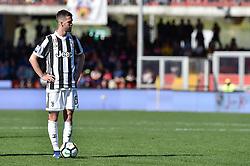 April 7, 2018 - Benevento, Italy - Miralem Pjanic of Juventus during the Serie A match between Benevento and Juventus at Ciro Vigorito Stadium, Benevento, Italy on 7 April 2018. (Credit Image: © Giuseppe Maffia/NurPhoto via ZUMA Press)