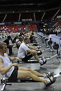 Birmingham, Great Britain,  general view, racing in lanes, at the 2008 British Indoor Rowing Championships, National Indoor Arena. on  Sunday 26.10.2008 . [Photo, Peter Spurrier/Intersport-images] .