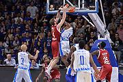 DESCRIZIONE : Eurolega Euroleague 2015/16 Group D Dinamo Banco di Sardegna Sassari - Brose Basket Bamberg<br /> GIOCATORE : Nicolo Melli Brenton Petway<br /> CATEGORIA : Schiacciata Sequenza Controcampo Fallo<br /> SQUADRA : Brose Basket Bamberg<br /> EVENTO : Eurolega Euroleague 2015/2016<br /> GARA : Dinamo Banco di Sardegna Sassari - Brose Basket Bamberg<br /> DATA : 13/11/2015<br /> SPORT : Pallacanestro <br /> AUTORE : Agenzia Ciamillo-Castoria/L.Canu