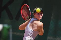Maja Makoric during final of Drzavno prvenstvo v tenisu za clane in clanice, on June 27th, 2019 in Maribor, Slovenia. Photo by Milos Vujinovic / Sportida