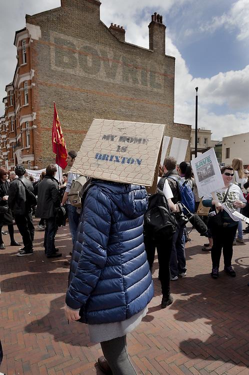 Reclaim Brixton Protest, Windrush Square 2015