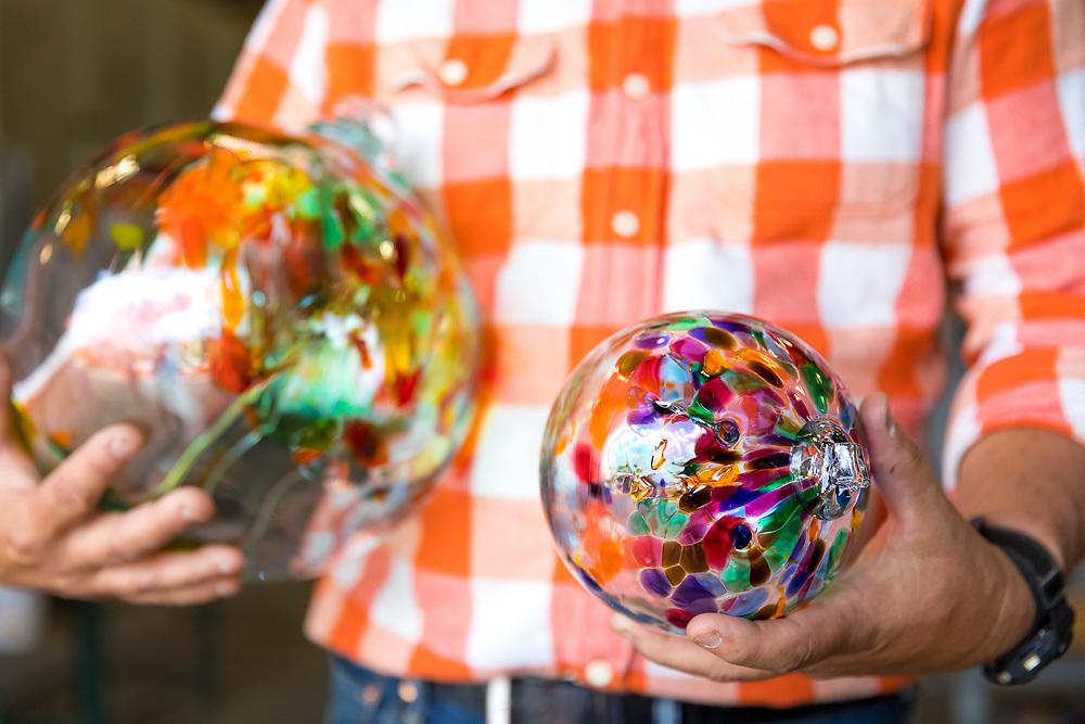 Kitras Glass Studio in Fergus, Ontario, Canada