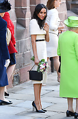 The Queen and The Duchess of Sussex visit Chester - 14 June 2018