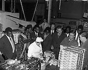 Nigerian Students visit Urney Chocolate Factory, Tallaght <br />21/01/1959