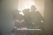 63818-02505 Firefighters at structure fire, Effingham Co., IL