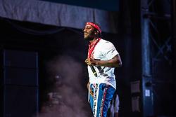 September 9, 2018 - Lloyd (Lloyd Polite Jr.) performing at One MusicFest in Atlanta, GA on 09 September 2018 (Credit Image: © RMV via ZUMA Press)